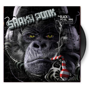 shaka-ponk-the-black-pixel-ape-drinking-cigarettes-to-take-a-break-vinyle